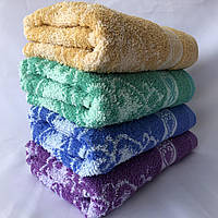БАННОЕ махровое полотенце. Качество. Махровые полотенца оптом 92-1, фото 1