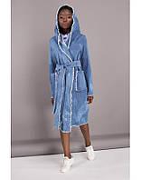 Пальто женское модное джинсовое в 2х цветах JEANS