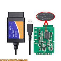 Авто-сканер USB ELM327 FTDI V1.5 OBD2 OBDII PIC18F25K80