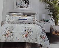 Красивое постельное белье сатин (евро комплект + одеяло)
