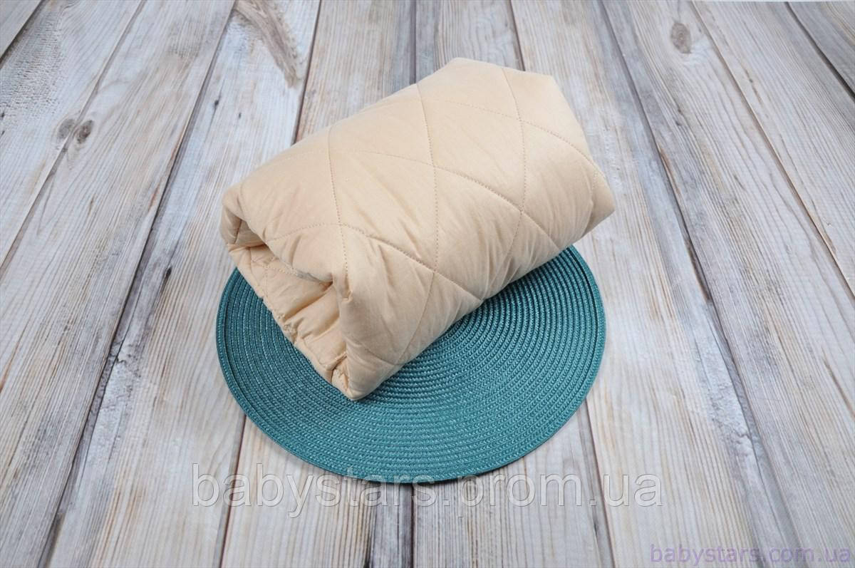 Подушка для кормления новорожденного на руку, песочная
