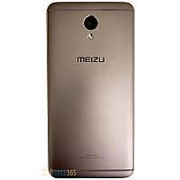 Задняя крышка Meizu M5 Note grey, оригинал, металл, сменная панель