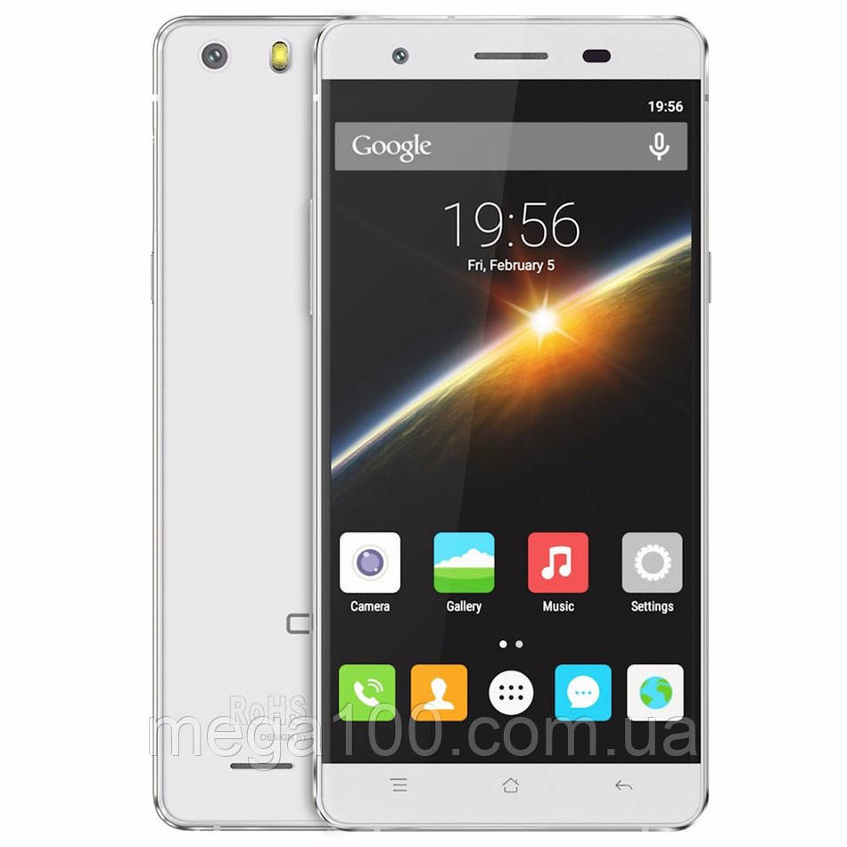 Смартфон Cubot X16S белый (экран 5 дюймов, памяти 3/16, акб 2700 мАч)