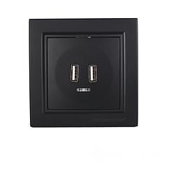 Розетка USB (2 порта) Enzo EH-5320-LT