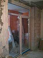 Дверь Комфорт Таун на балкон (раздвижка) 1785х2680 REHAU ECOSOL DESIGN 70 с двухкамерным стеклопакетом