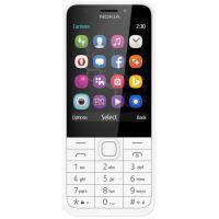 NOKIA мобільний телефон (сріблястий) Nokia 230 DS Silver (A00026972)