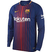 Футболка Барселоны с длинным рукавом (домашняя), сезон 2017- 2018.
