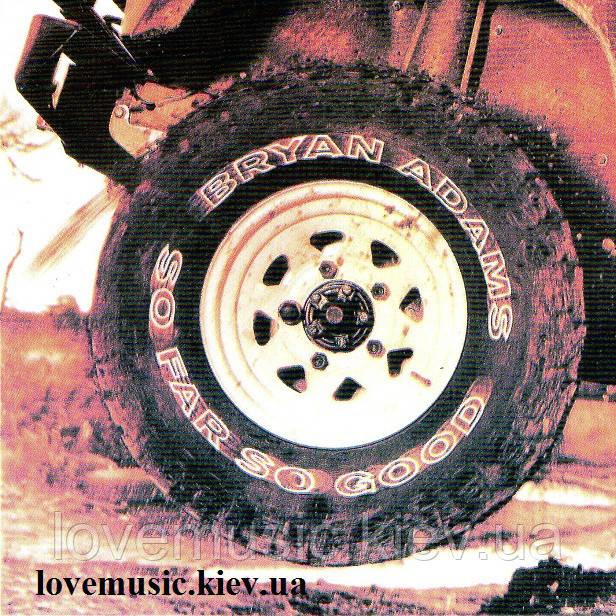 Музичний сд диск BRYAN ADAMS So far so good (1993) (audio cd)