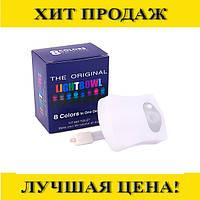 Ночник-подсветка для унитаза светодиод LIGHTBOWL, 8 цветов, датчик