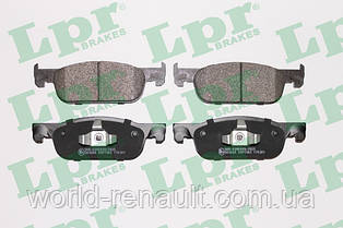 Комплект передних тормозных колодок на Рено Логан MCV 2, Сандеро Stepway 2/ LPR 05P1963