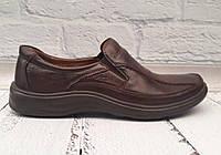 Туфли мужские Marko кожаные натуральные коричневые 0032УКМ