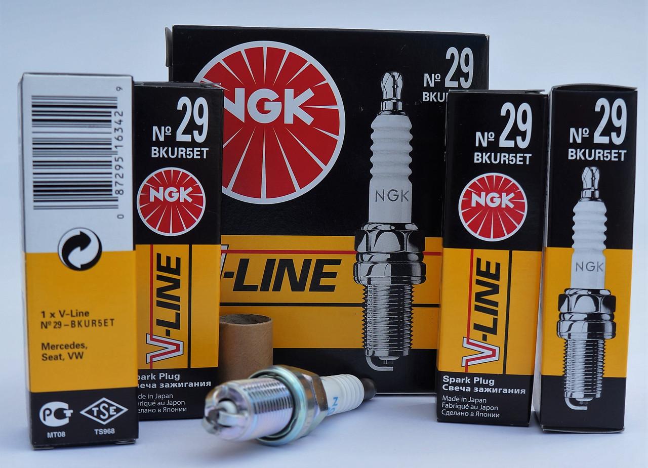 Свічки NGK V-Line 29 BKUR5ET / 6342