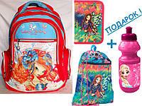 "Комплект. Рюкзак школьный ""Winx Fairy Couture (Винкс Фейри Кутюр)"" + пенал + сумка, ТМ ""YES!"""