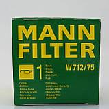 Фільтр Mann масляний W 712/75 оригінал, фото 2