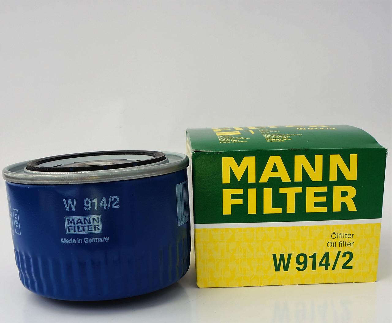Фильтр масляный Mann W 914/2 оригинал
