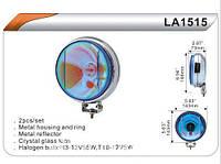 Фары доп. DLAA 1515 W/H3+T10-12V-55W/D=143mm
