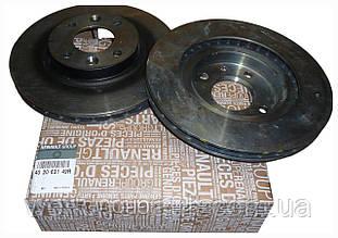 Renault (Original) 402063149R - Комплект тормозных дисков на Рено Логан 2, Сандеро Степвей 2 D=258мм