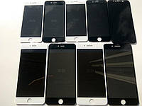 "ОРИГИНАЛЬНОЕ Защитное стекло 5D ""Приват"" Антишпион на/для Apple iPhone X, 8Plus, 8, 7+, 7, 6s+, 6s, 6+, 6Айфон"