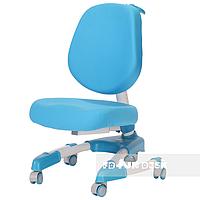 Детское регулируемое кресло Buono от 7 до 18+ лет ТМ FunDesk Голубой 221780, фото 1