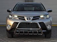Защита переднего бампера (кенгурятник) Toyota Rav-4 2013
