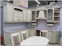 """Кухня угловая в классическом стиле """"Bellissimo"""""""