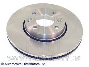 Передний тормозной диск на Рено Логан 2, Логан МСV 2, Сандеро Степвей 2 D=260мм/ BLUE PRINT ADN143112