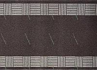 Ковровая дорожка на резиновой основе Греция, цвет коричневый