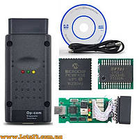 Автосканер OPEL OP-COM CAN-BUS v1.65 (адаптер на чипе FTDI PIC18F458) + русское ПО