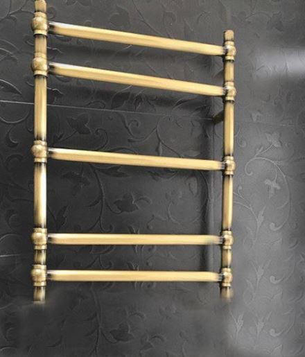 Полотенцесушитель в бронзе водяной электрический 1-05