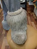 Унты натуральный мех двойной овчина и горный козёл