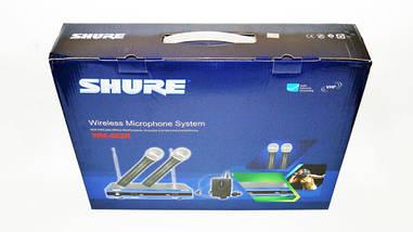 Радиосистема для мероприятий SHURE WM-502R база 2 радиомикрофона, фото 2