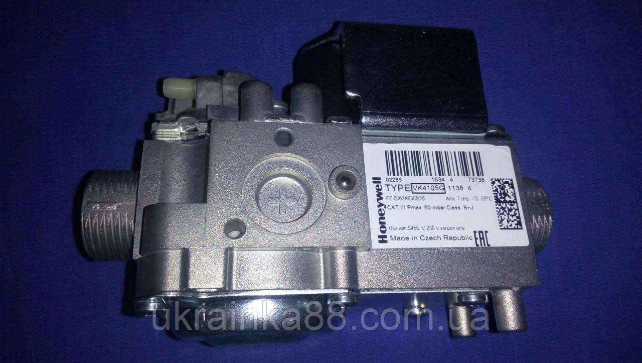 Газовый клапан на котел BAXI/ Westen/ Quasar D/ Manfour/ Junkers, Honeywell VK4105 (1138 4)