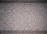 Ковровая дорожка на резиновой основе Ромбы, цвет бежевый