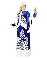 Снегурочка Звездная ночь женский карнавальный костюм \ Pur - 169
