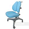 Подростковое ортопедическое кресло от 7 до 18+ Bello II Blue ТМ FunDesk Голубой 221777