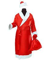 Дедушка Мороз мужской карнавальный костюм \ Pur - 9101
