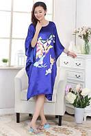 Шелковое платье кимоно бабочки