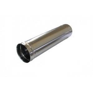 Труба димоходу з нерж. сталі 0,5мм ф130  0,5м.