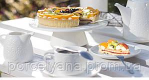 Фарфоровая стойка для десертов 26 см Lace