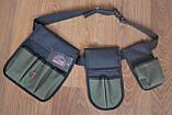 Пояс для инструмента 3 кармана 110 см Укрпром MFV 323149, фото 2