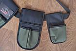 Пояс для инструмента 3 кармана 110 см Укрпром MFV 323149, фото 5