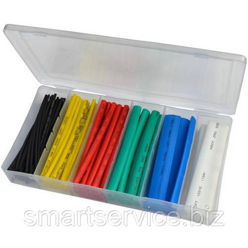 Набор цветных термоусадок 102шт. (1,5; 2,5; 4,0; 6,0; 10; 13мм)