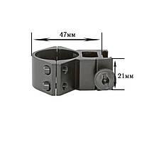 Крепление на оружие для фонаря 30 GK 2 screws (планка Вивера 17.5 мм) (K369)