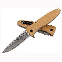 Нож Ganzo G620, клинок с травлением (G620y-2)