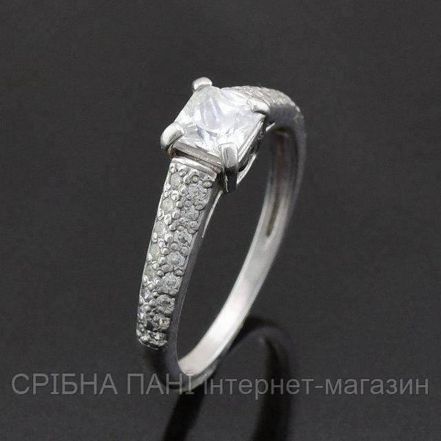 6576575c1b7c Серебряное кольцо 925 пробы с фианитами  продажа, цена в Броварах ...