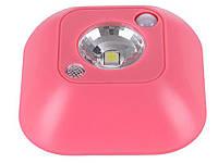 Світильник з датчиком руху Motion Light  Рожевий