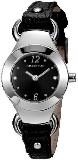 Наручные женские часы Romanson RN2633LWH BK оригинал