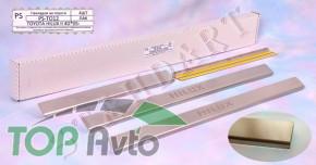 Nataniko Накладки на пороги Toyota Hilux 2005-2015