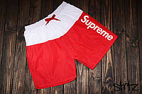 Современные пляжные шорты Supreme, шорты для пляжа Суприм