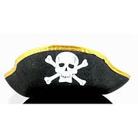 Капелюх Карнавальний Піратська дитячий/дорослий (золото) Пірати